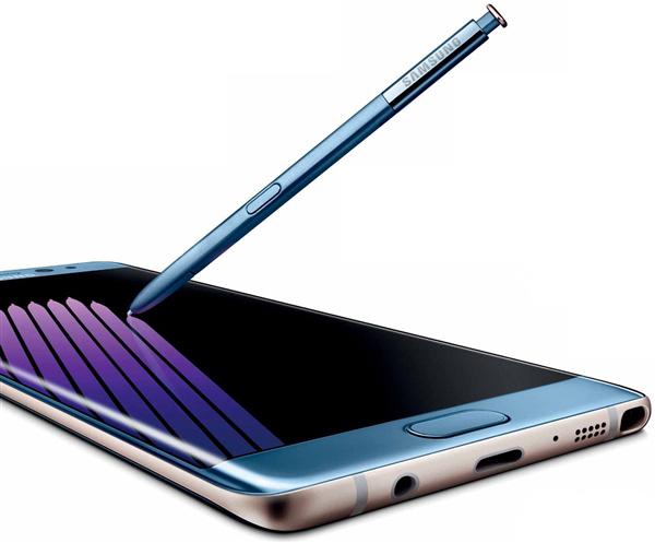 三星Note 7珊瑚蓝首次合体S Pen亮相的照片 - 1