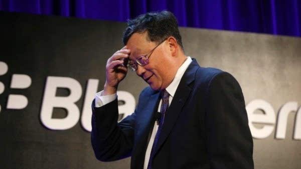 黑莓CEO抨击苹果将公司声誉凌驾于社会责任之上的照片