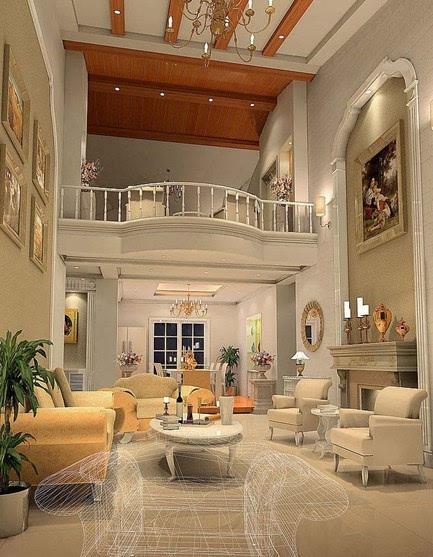 客厅欧式装修风格: 简欧式客厅打造,时尚简约