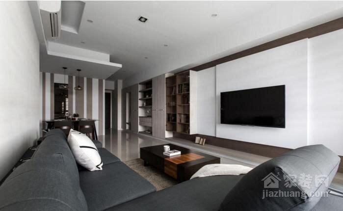 时尚小户型空间创意设计 现代风格家装效果图图片