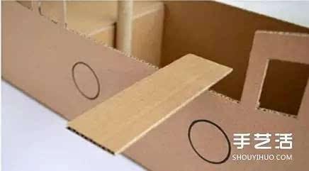 幼儿园手工纸箱子图片