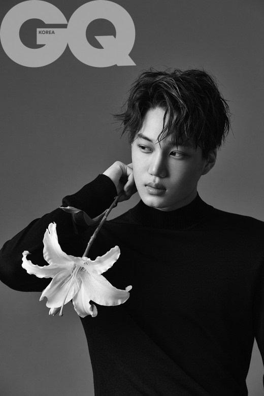 exo成员kai(金钟仁)独自拍摄时尚杂志画报公开