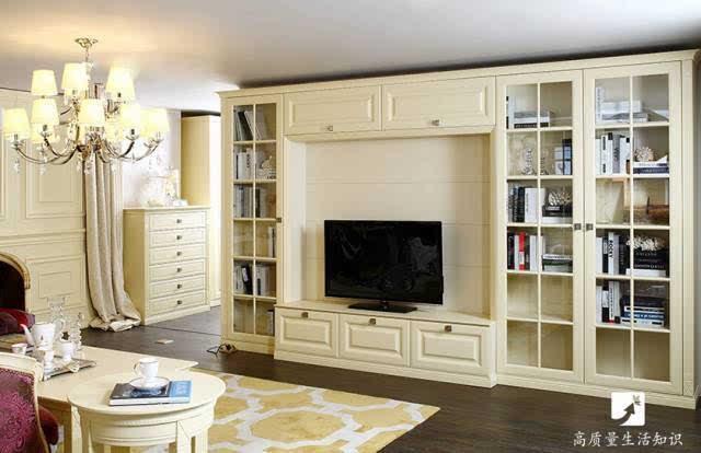 欧式风格的电视柜在设计上