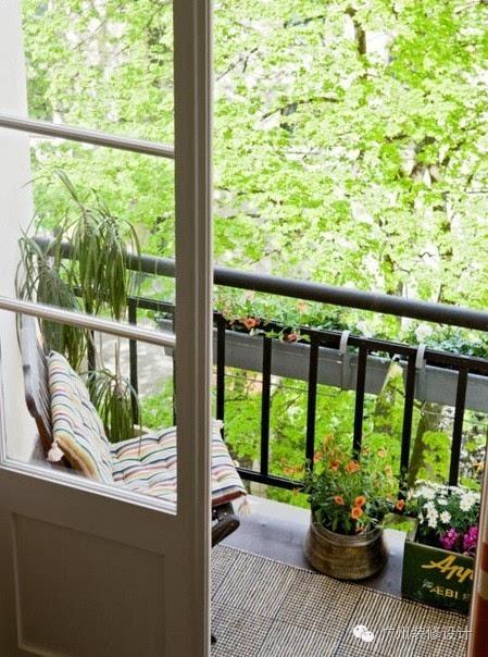 阳台可以是户外小客厅,可以是浪漫餐厅,也可以是你专属的空中花园图片