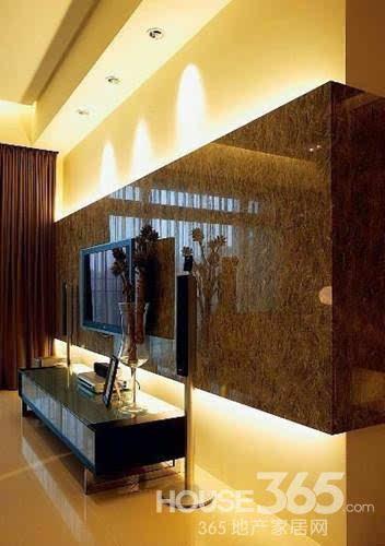 简欧电视墙背景墙 打造欧式风家居