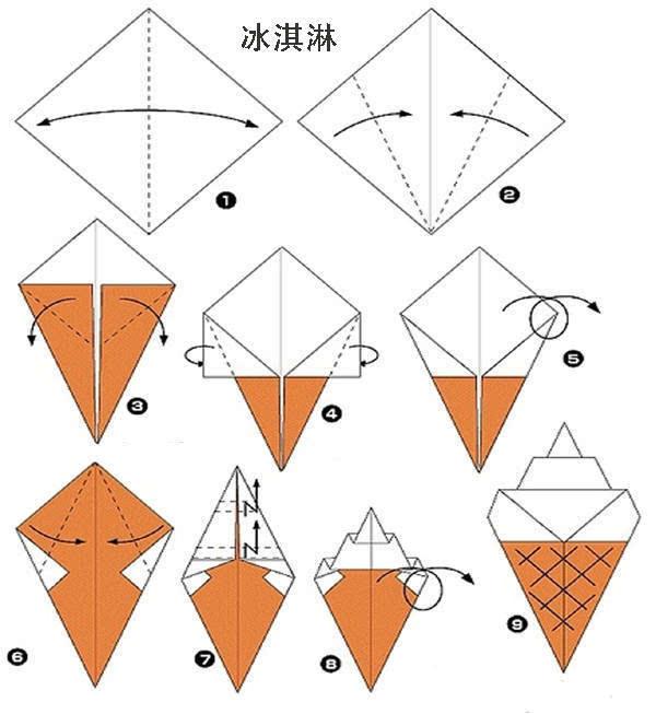 文章内容 >> 幼儿折纸鱼步骤图解  适合幼儿园小班学的手工小鱼的折纸