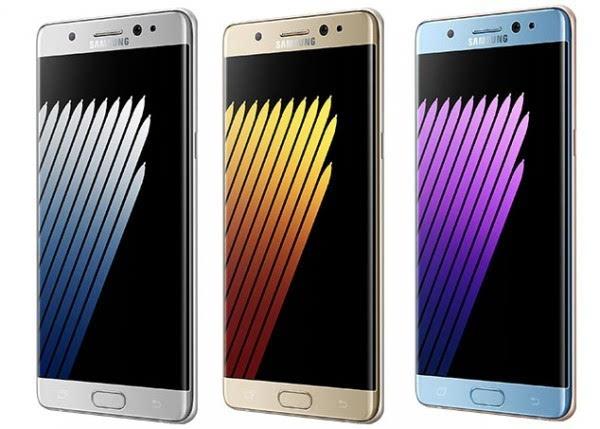 Galaxy Note 7官方新闻稿渲染图曝光的照片 - 1