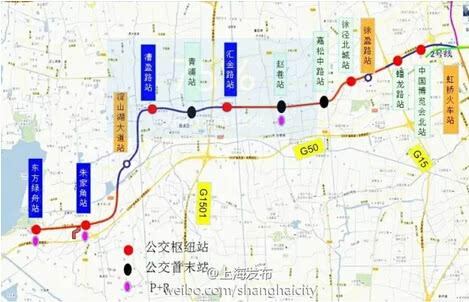 嘉闵线替代原17号线将开建 高峰间隔3分钟一班