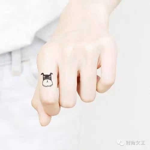 简约动物纹身贴