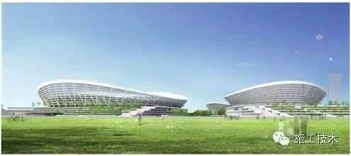 广州白云机场二号航站楼超大面积钢网架结构施工关键技术 ☆ 杭萧