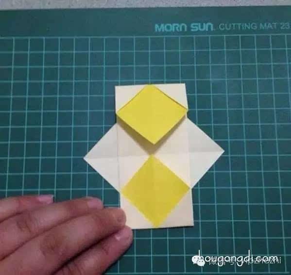 儿童折纸灯笼,做手工就应该做一个这样的灯笼