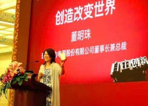 董明珠:手机市场红海是因没创新的文化的照片