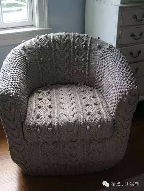 手工勾沙发垫图解