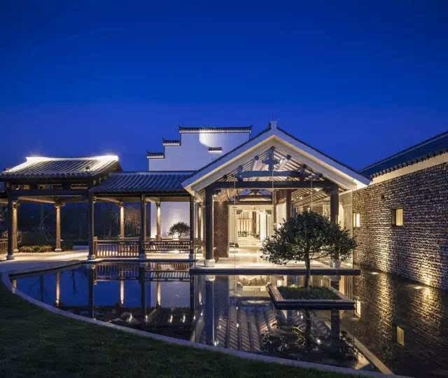 中式别墅屋顶造型
