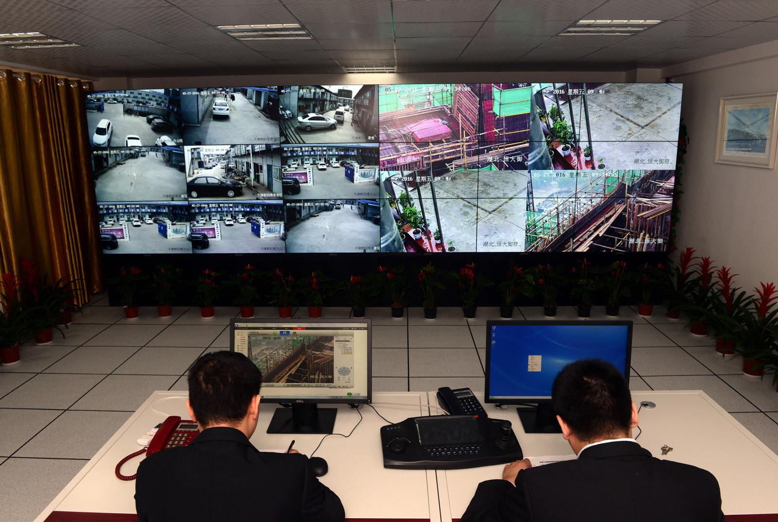 中国一冶推广远程视频监控系统