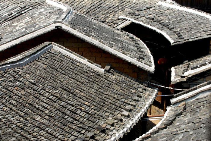 方形土楼内部结构