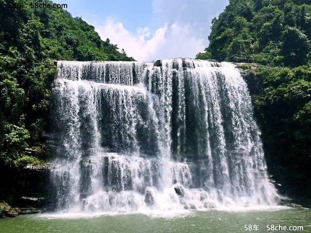 壁纸 风景 旅游 瀑布 山水 桌面 630_473