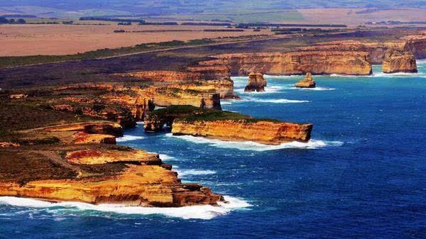 澳大利亚地理位置的详细介绍