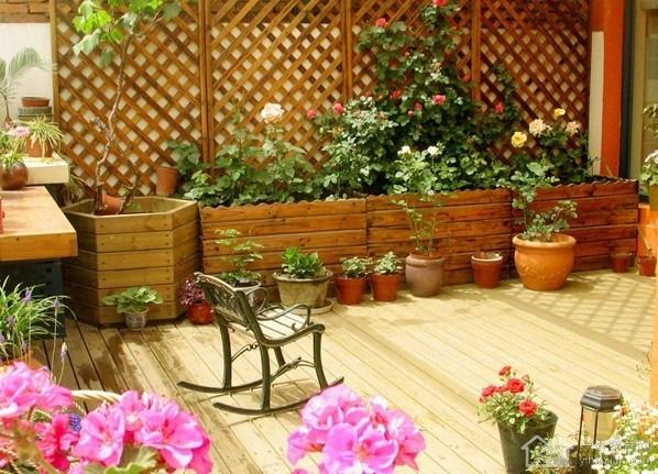 诠释舒适生活 小入户花园装修效果图赏析