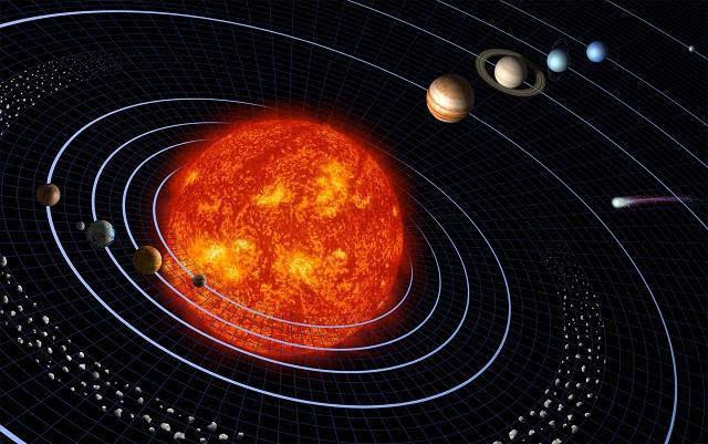 太阳系的九大行星中,离太阳最近的是什么星,离太阳最远的是什么星?图片