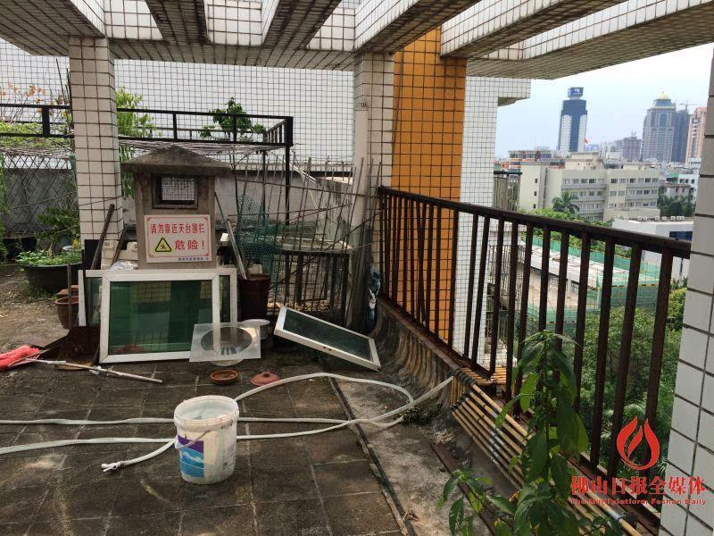 楼顶天台护栏效果图