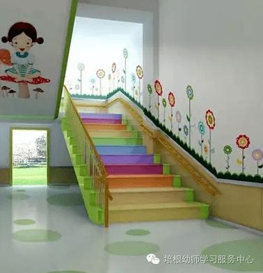 楼梯及走廊环境布置参考