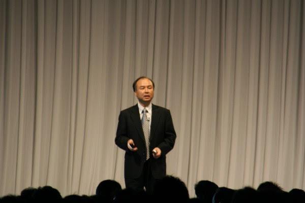 孙正义:收购ARM后 软银将与谷歌苹果同台竞争的照片