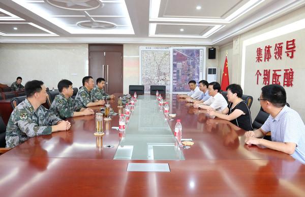 滁州职业技术学院赴部队慰问官兵