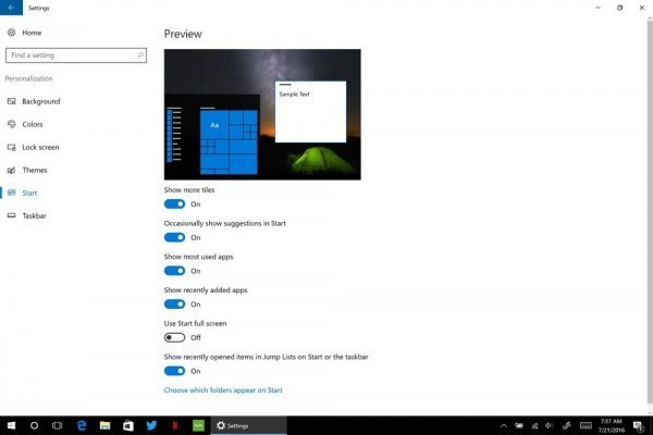 Windows 10周年更新:详解开始菜单的那些改善的照片 - 12
