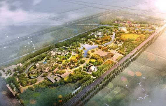 市区最大公园开放!动物园也快了