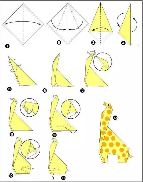 动物折纸企鹅大全 图解