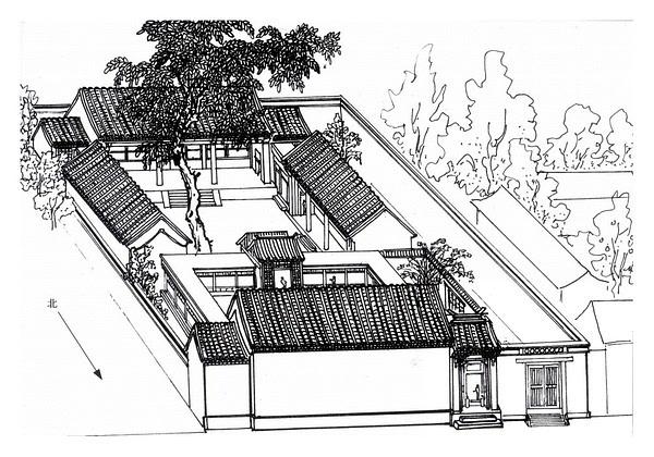 住宅烟道内部结构图