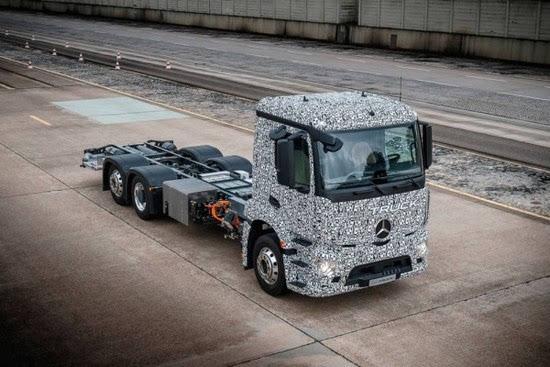 奔驰推出纯电动重型卡车Urban eTruck的照片 - 6