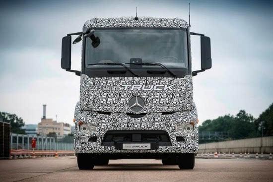 奔驰推出纯电动重型卡车Urban eTruck的照片 - 10