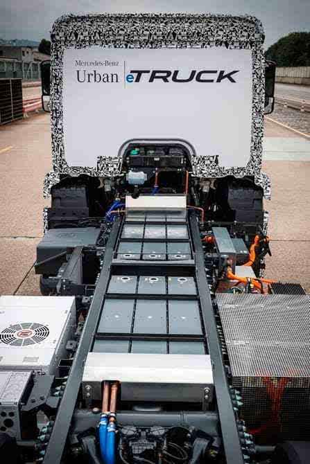奔驰推出纯电动重型卡车Urban eTruck的照片 - 12