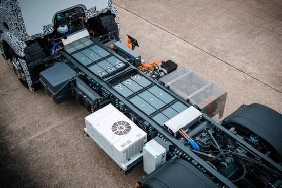 奔驰推出纯电动重型卡车Urban eTruck的照片 - 13