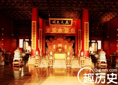 太和殿是古代汉族宫殿建筑的精华,属于北京故宫三大殿之一.图片