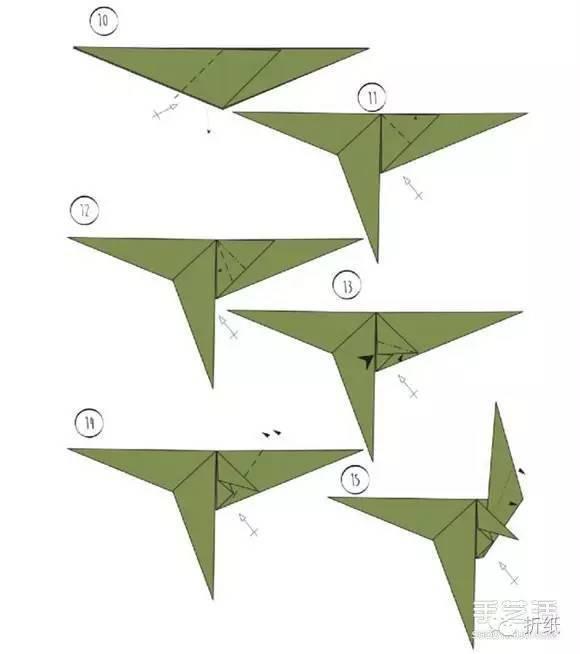 跟着下面的详细折纸步骤来diy试试吧