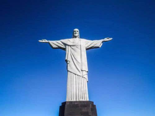 """""""上帝之城""""里约热内卢的巨型耶稣像"""