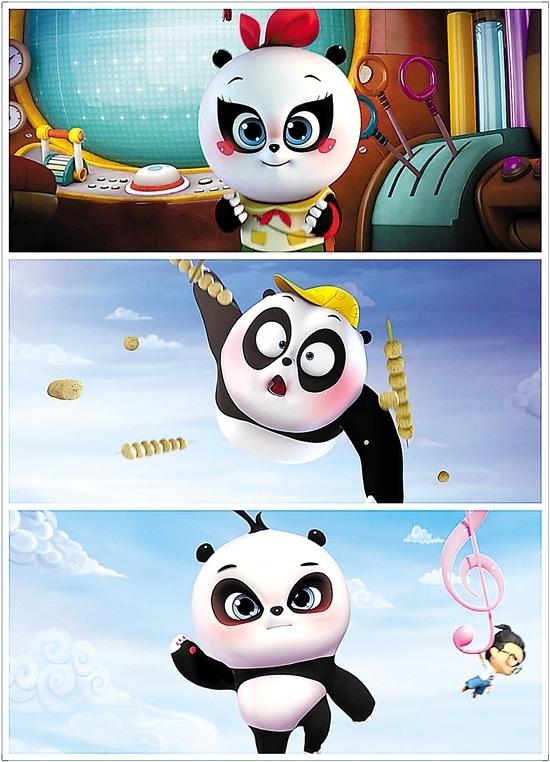 《爸爸去哪儿2之熊猫三胞胎童话次元大冒险》在金鹰卡通频道首播第一