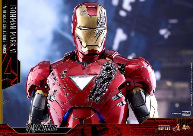 复仇者联盟2钢铁侠穿的马克几