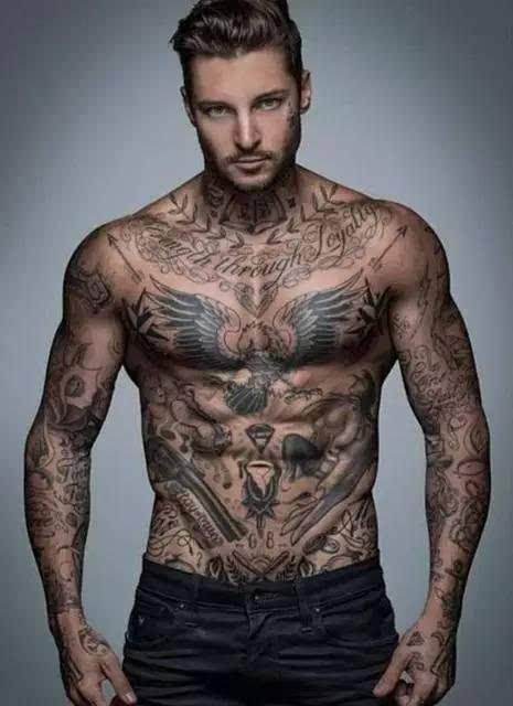 刺青 欧美10大人气纹身元素,看完之后再考虑刺青吧图片