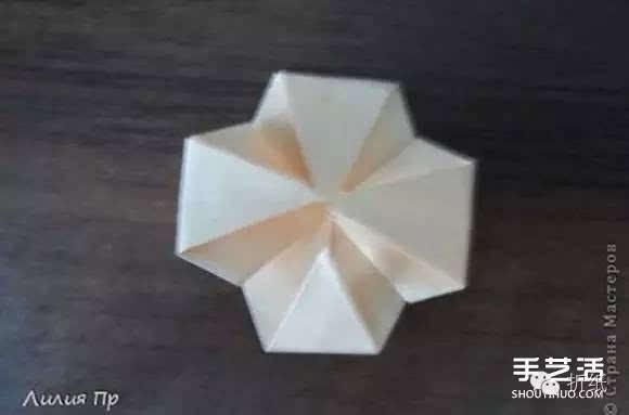 手工卡纸折玫瑰花图解 卡纸玫瑰花折纸方法图片