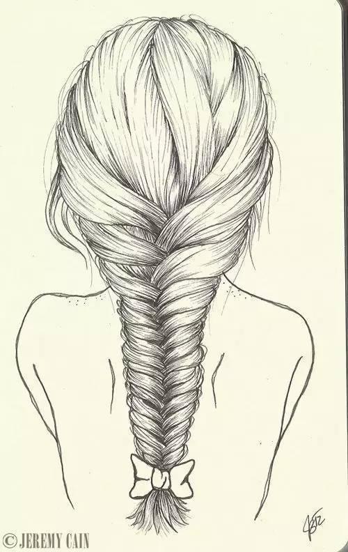 唯美手绘发型,惊艳到你了吗?