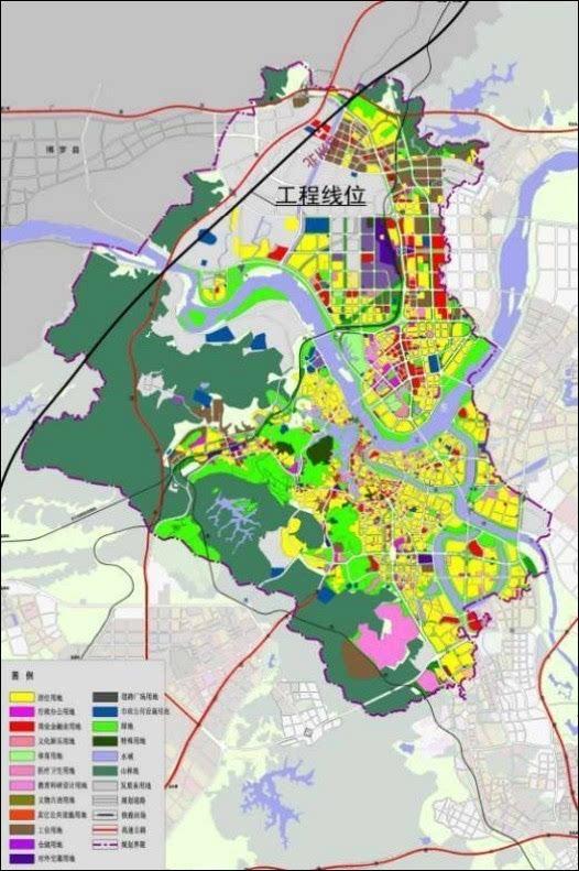 博罗全境旅游手绘地图