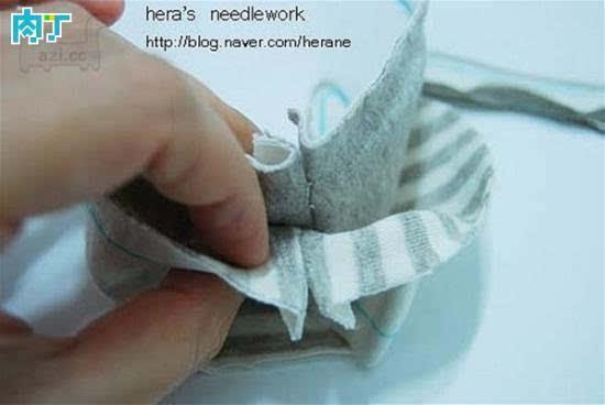 教你制作漂亮可爱的手工diy婴儿鞋宝宝鞋的详细步骤
