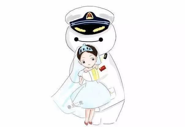 海军叔叔简笔画
