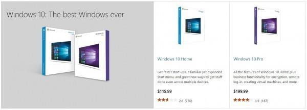 微软开始以9.99起的价格销售Windows 10的照片 - 2