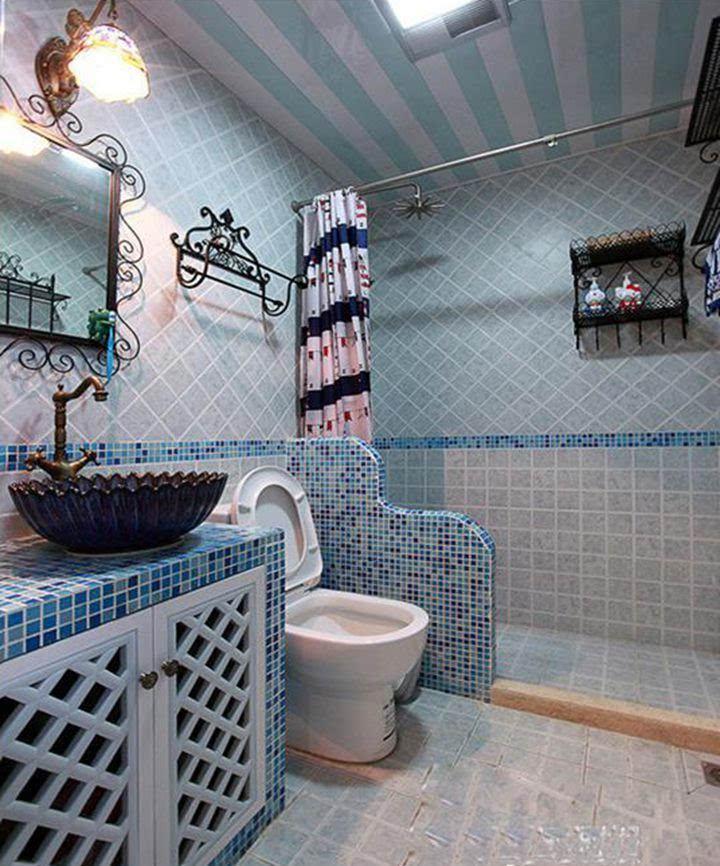 浴室装修设计图