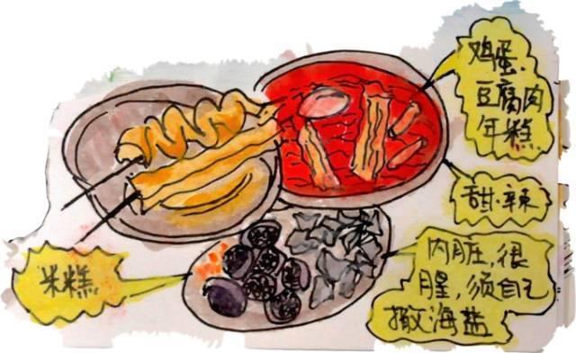 韩国济州岛手绘游记,超萌图片 攻略
